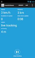 Screenshot of track2share