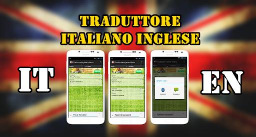 Traduttore Italiano Inglese