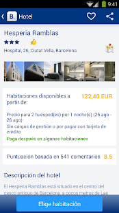 Booking.com: +640.000 hoteles - screenshot thumbnail
