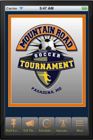 Mountain Rd Soccer Tournament