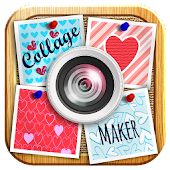 Heart Photo Collage Maker