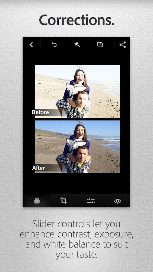Adobe Photoshop Express - screenshot