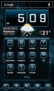 Vaporize Apex\ADW Theme- screenshot thumbnail