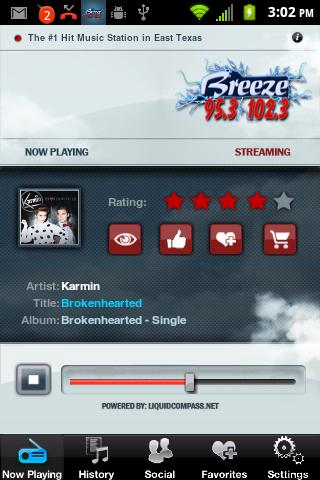 95.3 & 102.3 The Breeze- screenshot