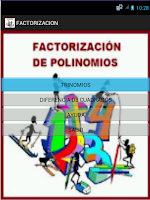 Screenshot of FACTORIZACION PRO