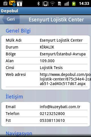 Depobul- screenshot