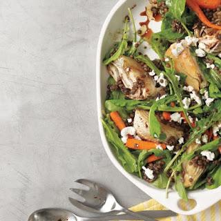 Roasted Vegetable Salad with Lentils