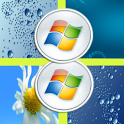 Transparent Windows 8 Launcher icon