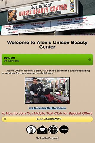 Alex's Unisex Beauty Center