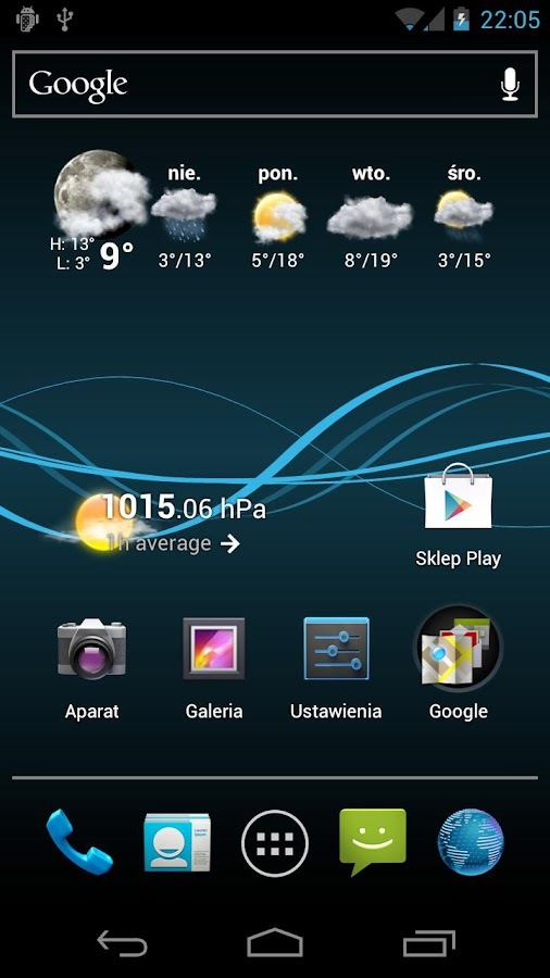 Nexus Waves LWP - screenshot