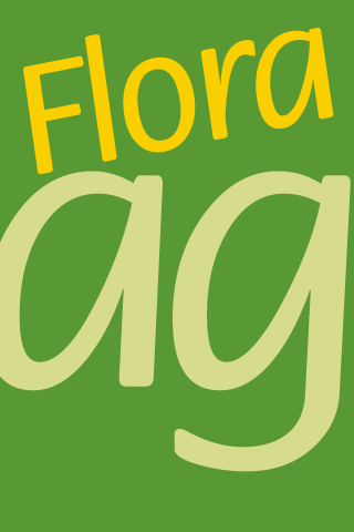 Flora FlipFont - screenshot