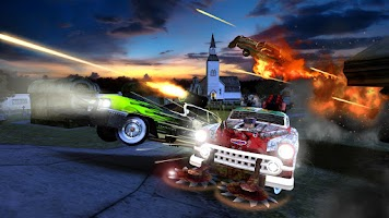 Screenshot of Death Tour- Racing Action Game