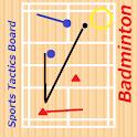 STB badminton logo
