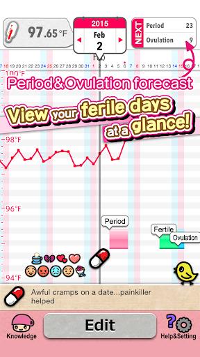 Japanese Kawaii Period Tracker