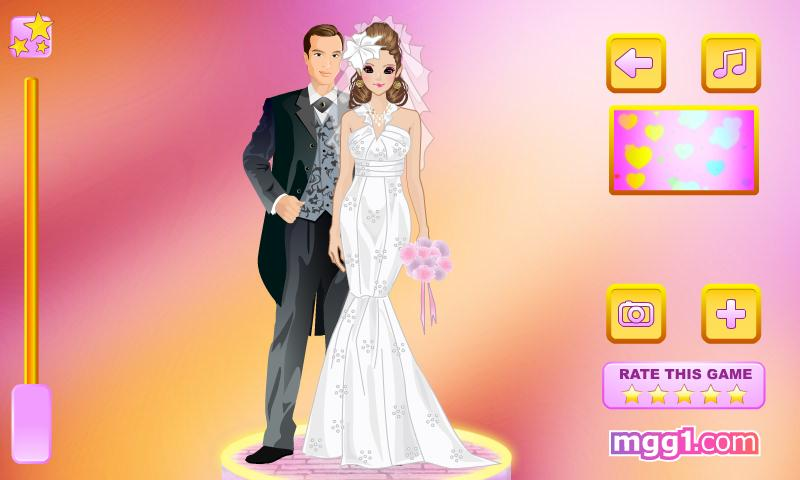 Moonlight Wedding Dress Up - screenshot