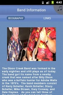 The Dixon Creek Band - screenshot thumbnail