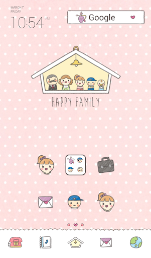 happy family dodol theme