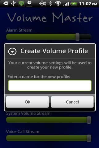 Volume Master- screenshot