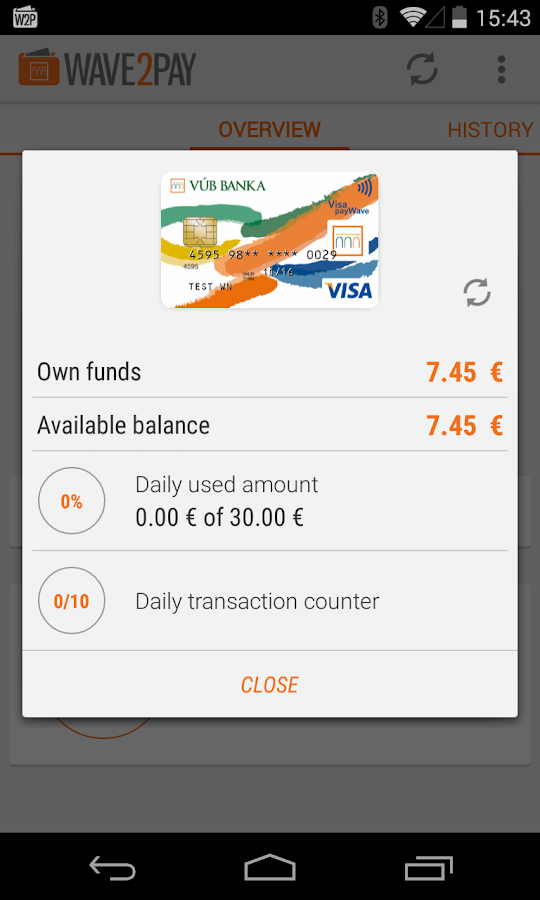 VÚB Wave 2 Pay- screenshot