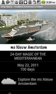 Ship Mate - Holland America- screenshot thumbnail