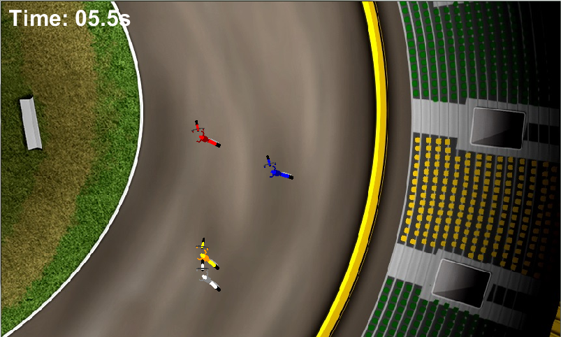 Speedway Challenge Game- screenshot