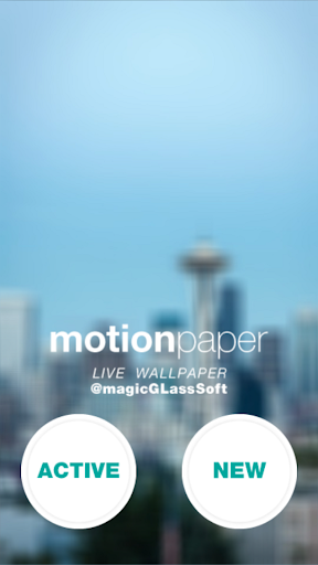 Motion Paper - Live Wallpaper