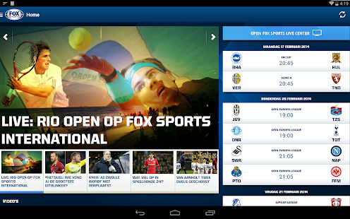 FOX Sports NL Screenshot 16