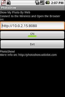 PhotoShow- screenshot thumbnail