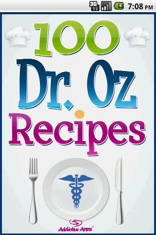 Dr. Oz Recipes - screenshot