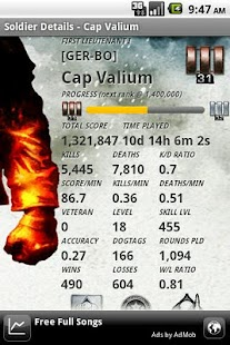 BFBC2 Stats Addict - FREE - screenshot thumbnail