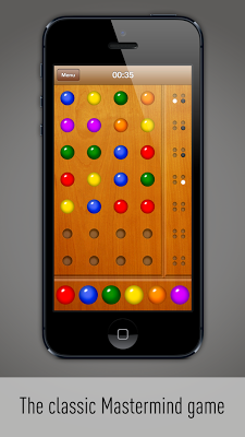 Color Code Mastermind - screenshot