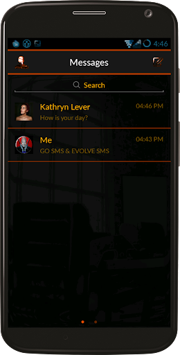 Orange SMS Pro Theme