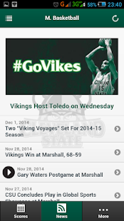 CSU Vikings Front Row- screenshot thumbnail