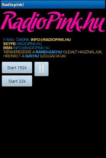 Radiopink.hu Player - screenshot thumbnail