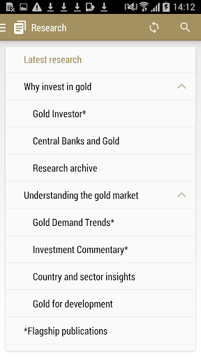 Gold Research