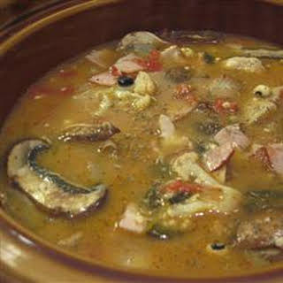 Ham and Bean Soup I.