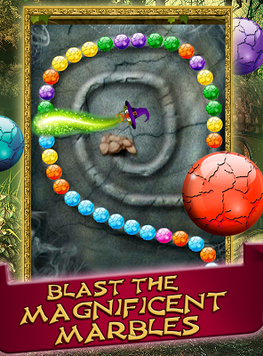 Witch's Magic Marbles - screenshot