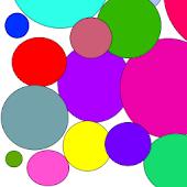 """Color Circles """"91pandaHome2"""""""