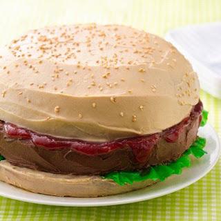 Big Burger Cake