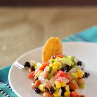 Homemade Texas Caviar.
