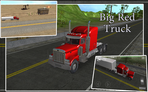 Big Red Truck Driver Pro