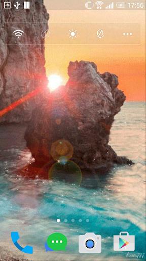 Live Wallpaper Sun light