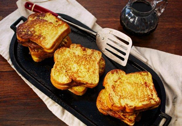 Pork Chop-Stuffed French Toast