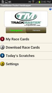 TrackMaster Pocket Handicapper - screenshot thumbnail