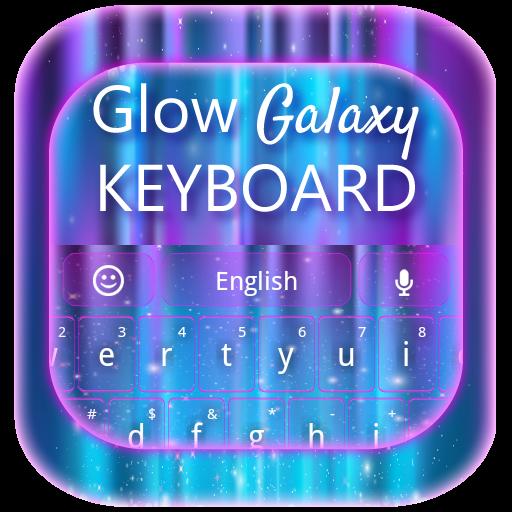 Glow Galaxy Keyboard LOGO-APP點子