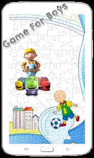 Boy Puzzle Games
