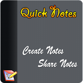 Quick Notes pad - Save & share