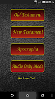 Screenshot of Audio Bible (KJV)