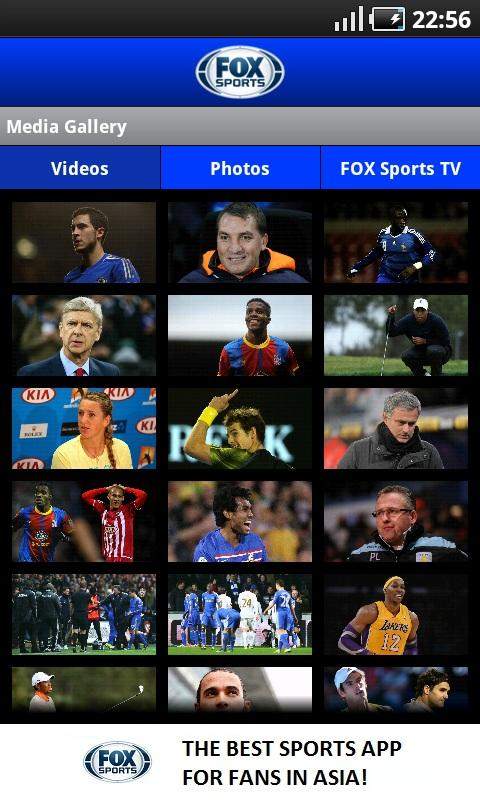 FOX SPORTS MOBILE - screenshot