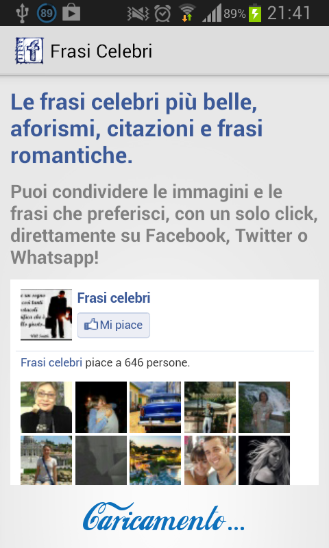 Frasi Celebri- screenshot